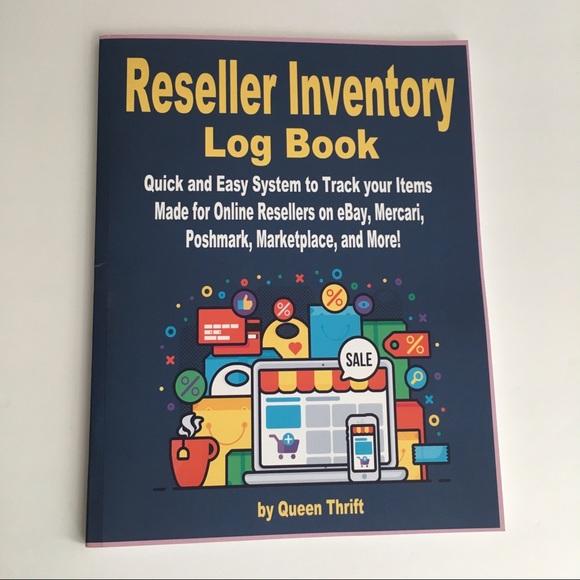 Reseller Inventory Log Book. NEW